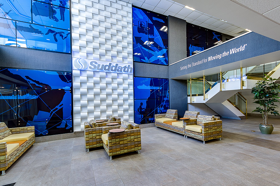 Suddath interior lobby